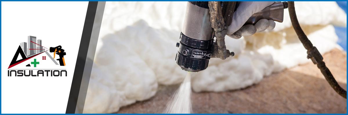 A Plus Insulation, LLC Specializes in Spray Foam Insulation