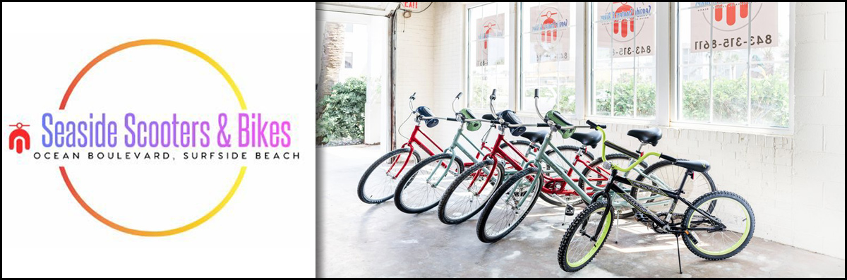 Seaside Scooters & Bikes Provides Bike Rentals in Surfside Beach, SC