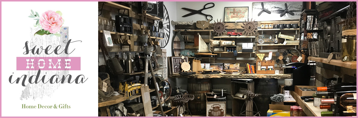 Sweet Home Indiana Gifts Offers Industrial Decor and Gifts in Saint John, IN