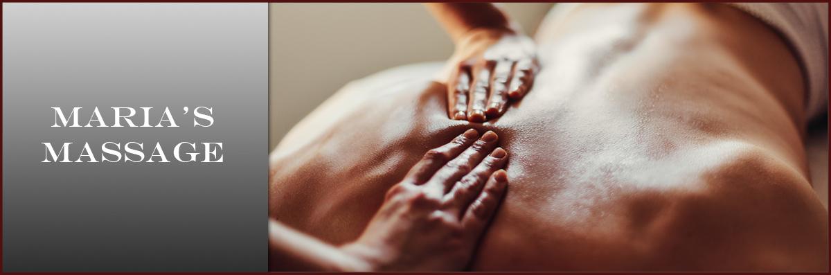 Maria's Massage Offers Massage in Amarillo, TX
