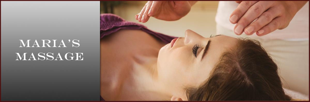 Maria's Massage Offers Reiki in Amarillo, TX