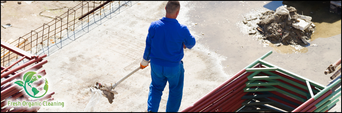 Fresh Organic Cleaning Services Performs Construction Cleaning in Odessa, TX