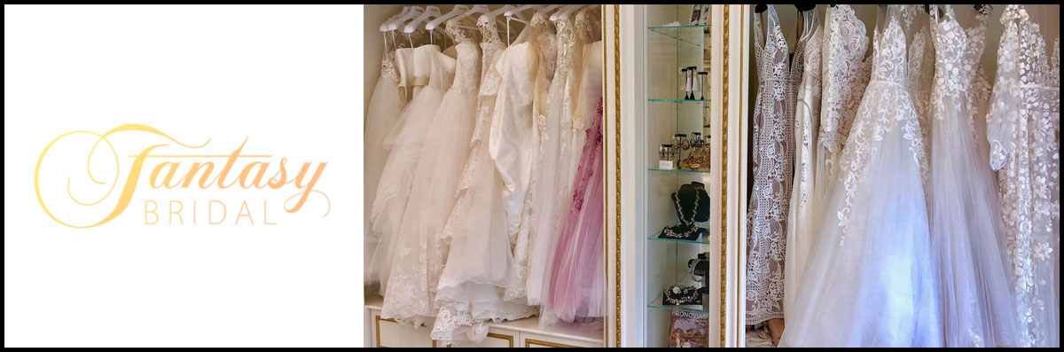 Fantasy Bridal Boutique Sells Bridal Gowns in Kinnelon, NJ
