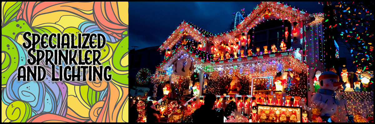Specialized Sprinkler and Lighting Specializes in Christmas Lighting in Bridgeport. TX
