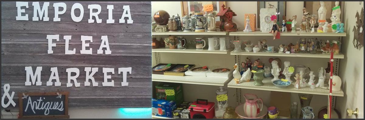 Emporia Flea Market & Antiques  is an Antique Shop in Emporia, KS
