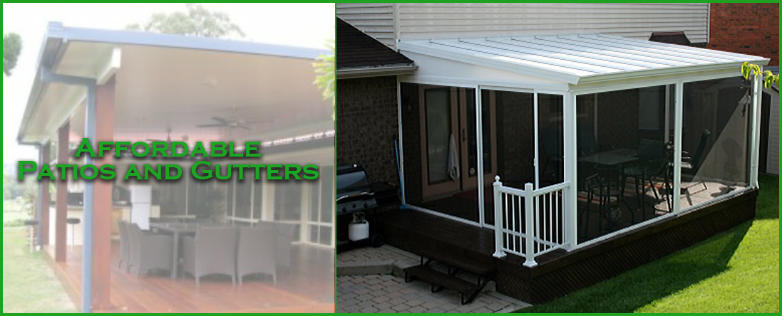 Affordable Patios and Gutters is a Patio Cover Company in