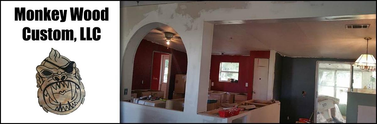 Monkey Wood Custom, LLC Does Kitchen Remodeling in Polk City, FL