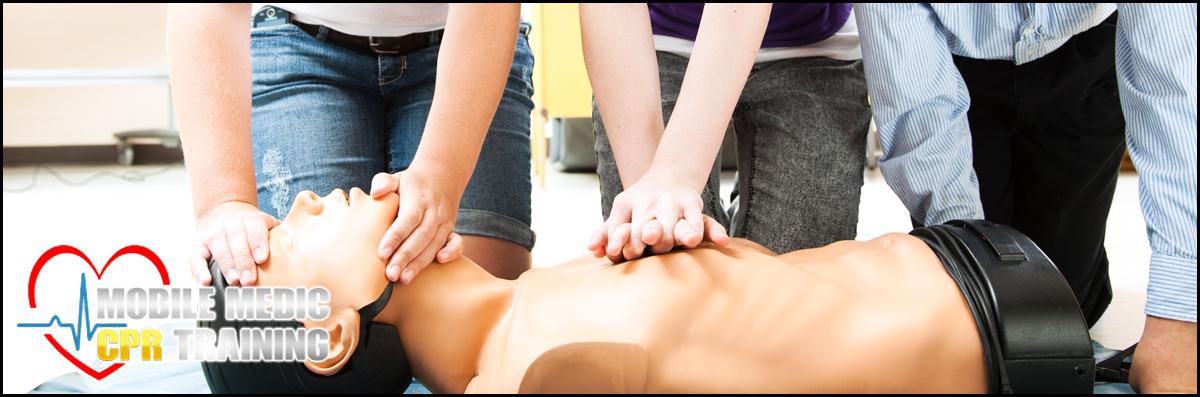 Mobile Medic CPR Training  Provides CPR Classes in Las Vegas, NV