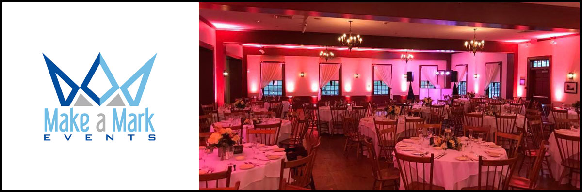 Make A Mark Events Provides Uplighting Services in Worcester, MA