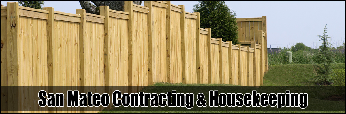 San Mateo Contracting & Housekeeping is a Fence Contractor