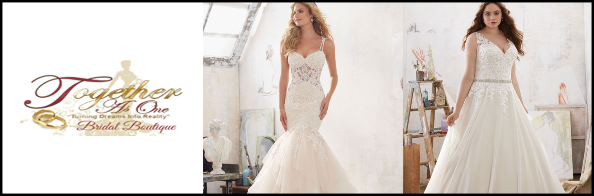 Together As One Bridal Boutique  Has Bridal Gowns in Fayetteville, NC