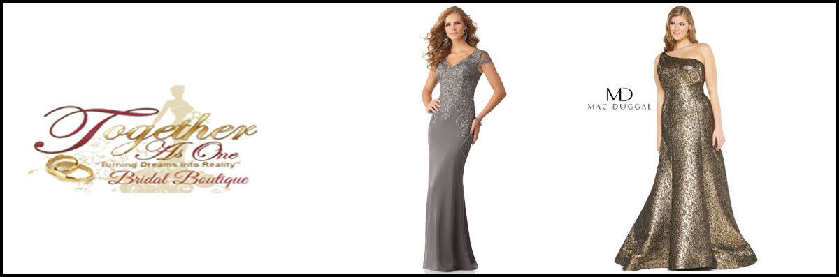 Together As One Bridal Boutique  Has Special Occasion Dresses in Fayetteville, NC