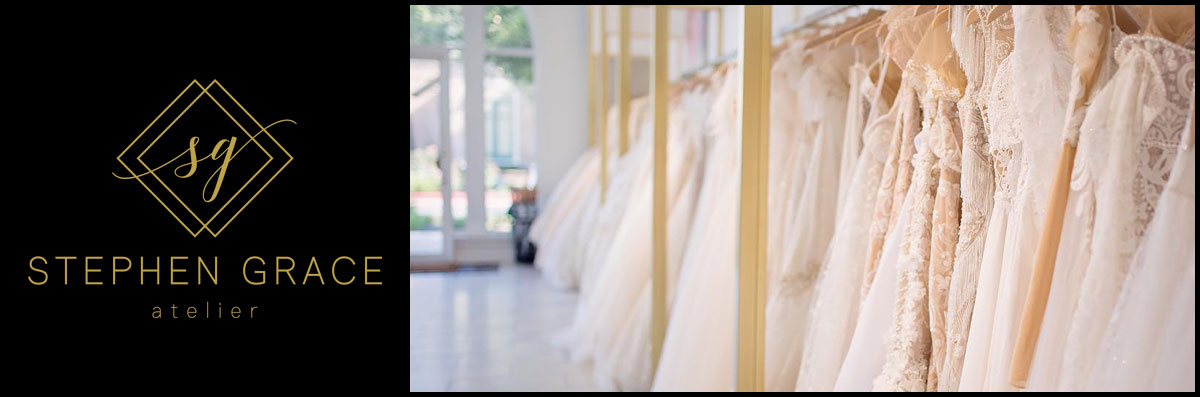 Stephen Grace Atelier Sells Wedding Dresses in The Woodlands, TX