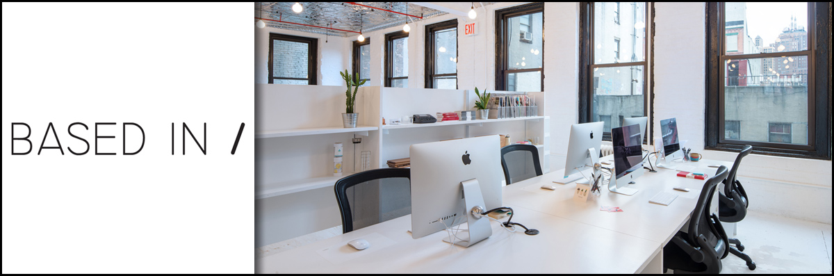 Based In Offers Coworking Space in New York, NY