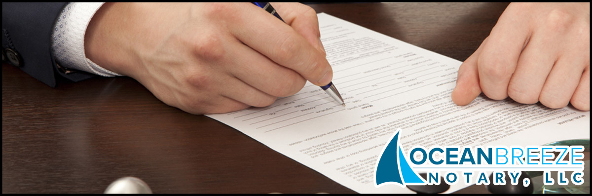 Ocean Breeze Notary, LLC Provides Grant Deeds in Marina del Rey, CA
