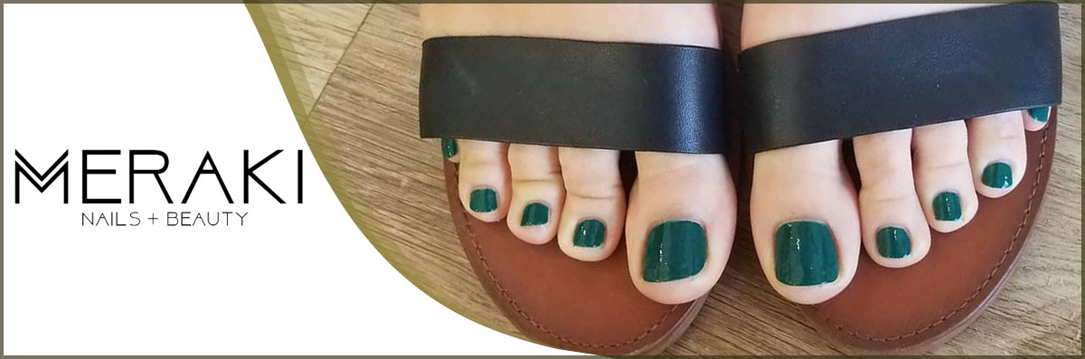 MERAKI Nails and Beauty Specializes in Pedicures in Danbury, CT