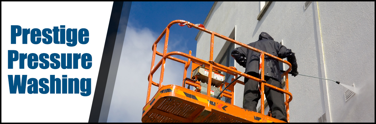 Prestige Pressure Washing Does Commercial Pressure Washing in Stockton, CA