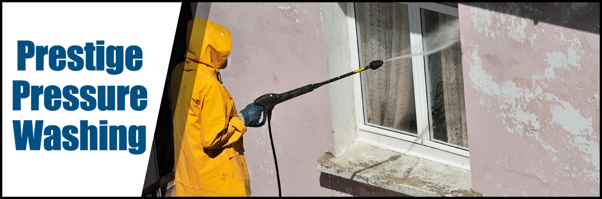 Prestige Pressure Washing Does Window Pressure Washing in Stockton, CA