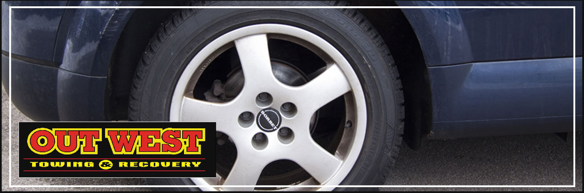 Out West Towing & Recovery Offers Tire Changes in Drayton Valley, AB