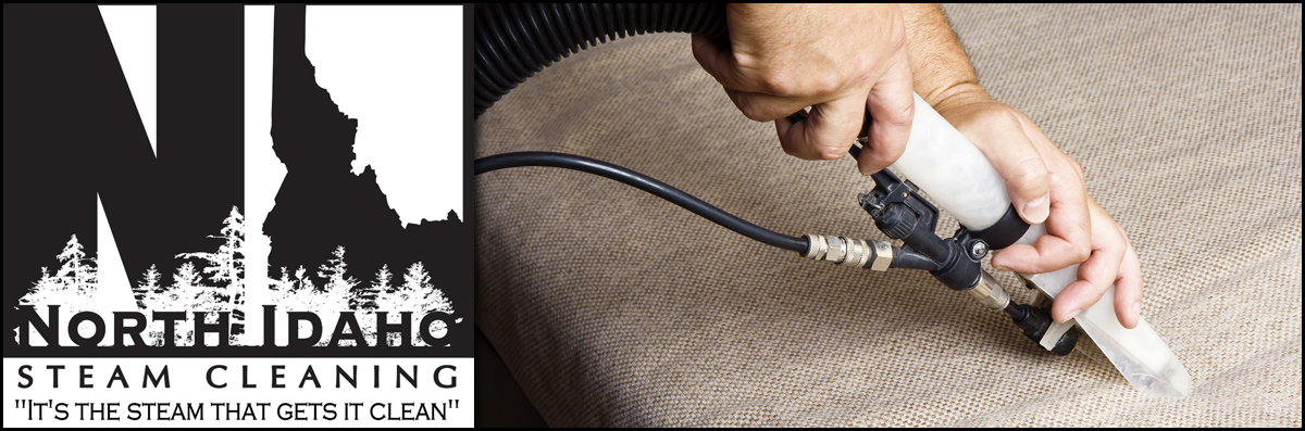 North Idaho Steam Cleaning Does Upholstery Cleaning in Sandpoint, ID
