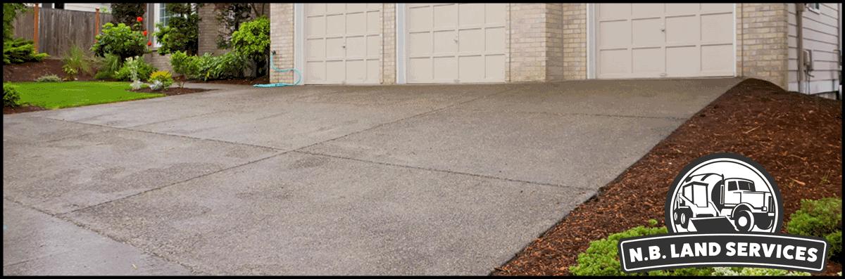 N.B Land Services Builds Concrete Driveways in Brookshire, TX