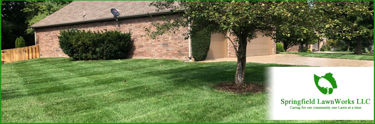 Springfield LawnWorks LLC Does Landscaping in Springfield, MO
