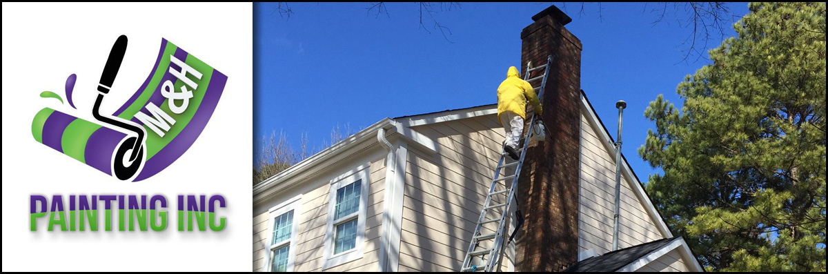 M & H Painting  Does Exterior Painting in Charlotte, NC