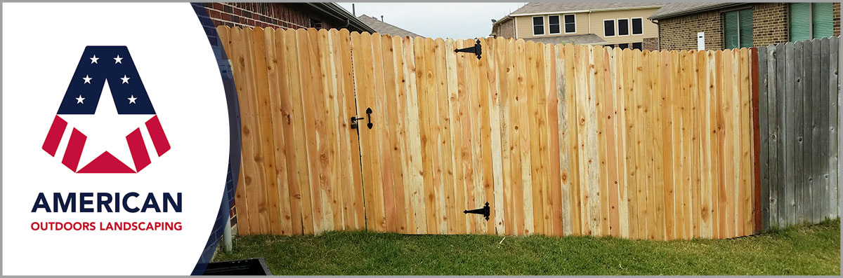 American Landscaping Offers Fencing Services in Terrell, TX