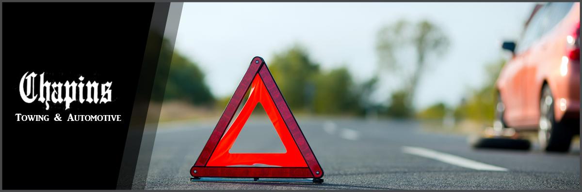 Emergency Roadside Service >> Chapins Towing Automotive Llc Offers Emergency Roadside