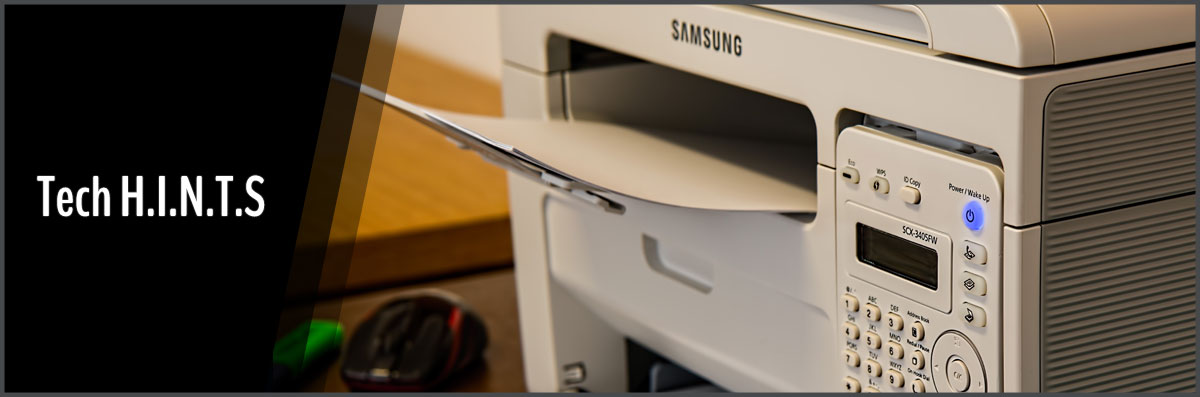 Tech H.I.N.T.S Provides Printer Repair in Aurora, CO