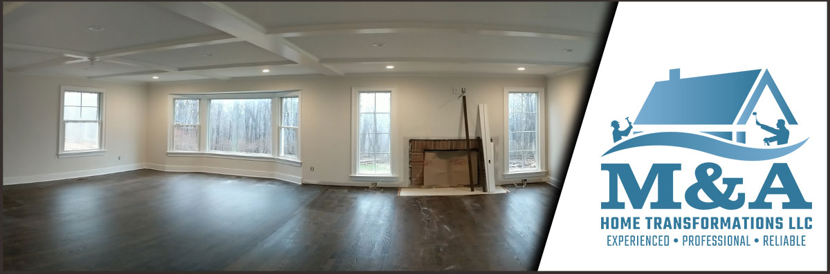 M & A Home Transformations LLC Does Interior Painting in South Salem, NY