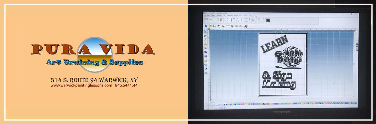 Pura Vida Art Training & Supplies Offers Graphic Design Services in Warwick, NY
