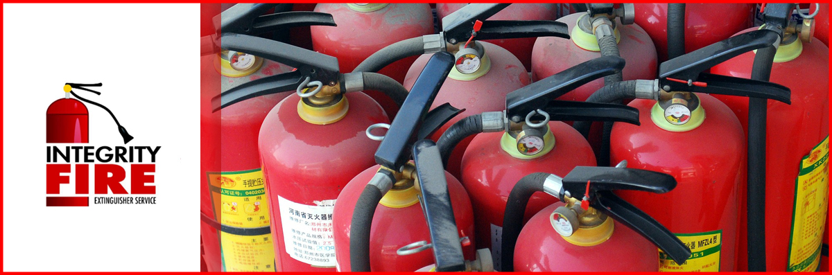 Integrity Fire Extinguisher Service Offers Fire Extinguisher