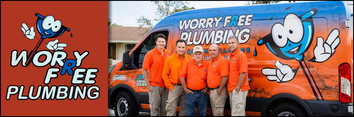 Worry Free Plumbing Does Plumbing Repair in Clewiston, FL