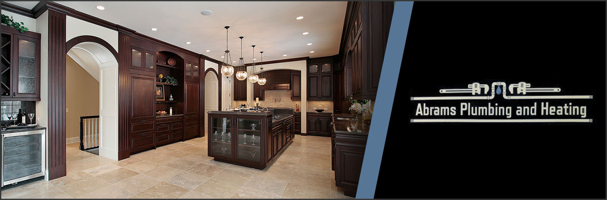 Abrams Plumbing And Heating Does Kitchen Remodeling In