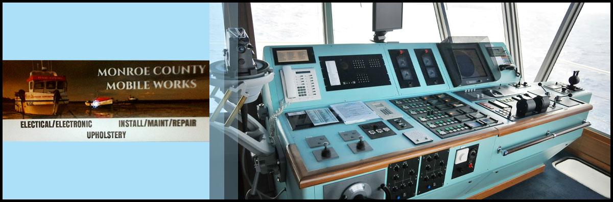 Monroe County Mobile Works is a Marine Electronics Company