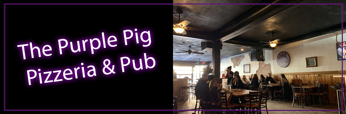 The Purple Pig Pizzeria & Pub has Dine In in Alamosa, CO