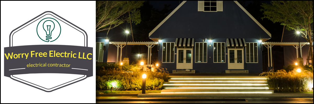 Worry Free Electric Installs Outdoor Lighting in Buckhannon, WV