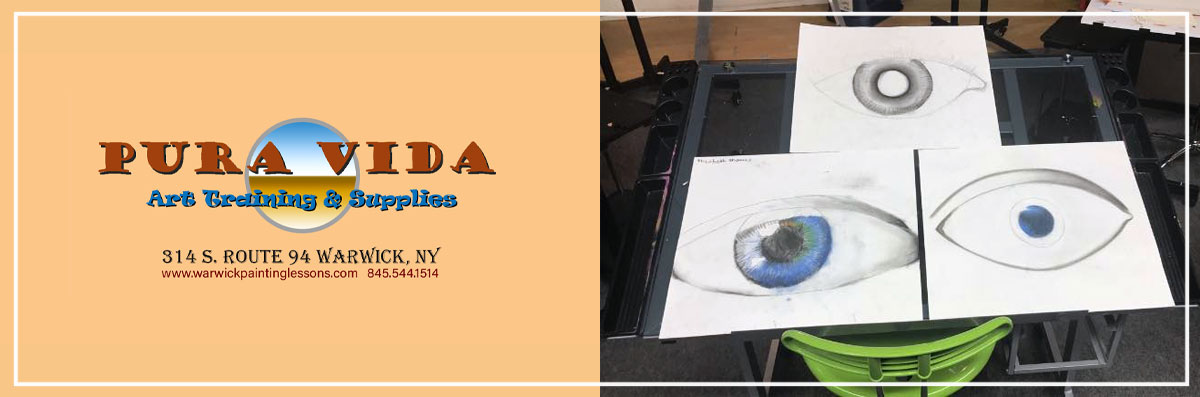 Pura Vida Art Training & Supplies Offers Drawing and Painting Classes in Warwick, NY