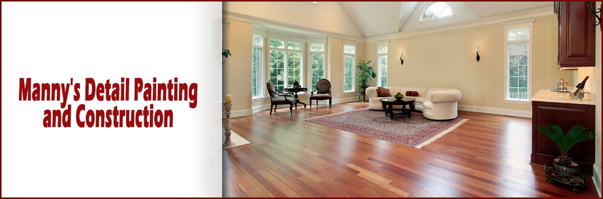Manny's Detail Painting and Construction Installs Hardwood Flooring in Los Angeles, CA