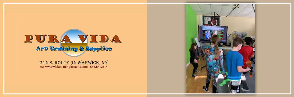 Pura Vida Art Training & Supplies Does Birthday Parties in Warwick, NY