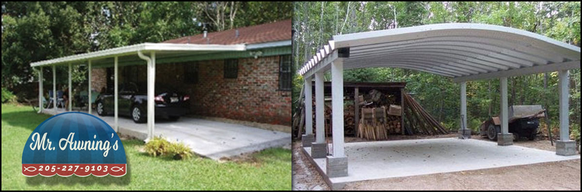 Mr. Awnings & Home Repairs Installs Residential Awnings in Pell City, AL
