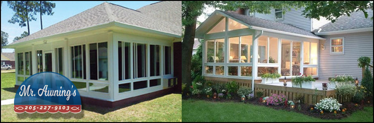 Mr. Awnings & Home Repairs Does Screen Room Installation in Pell City, AL