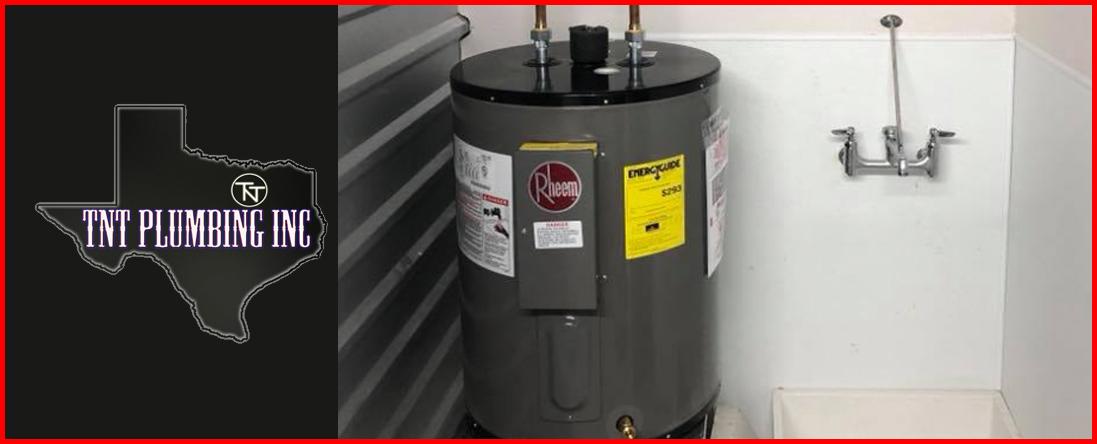 TNT Plumbing Offers Water Heater Repair in Forney, TX