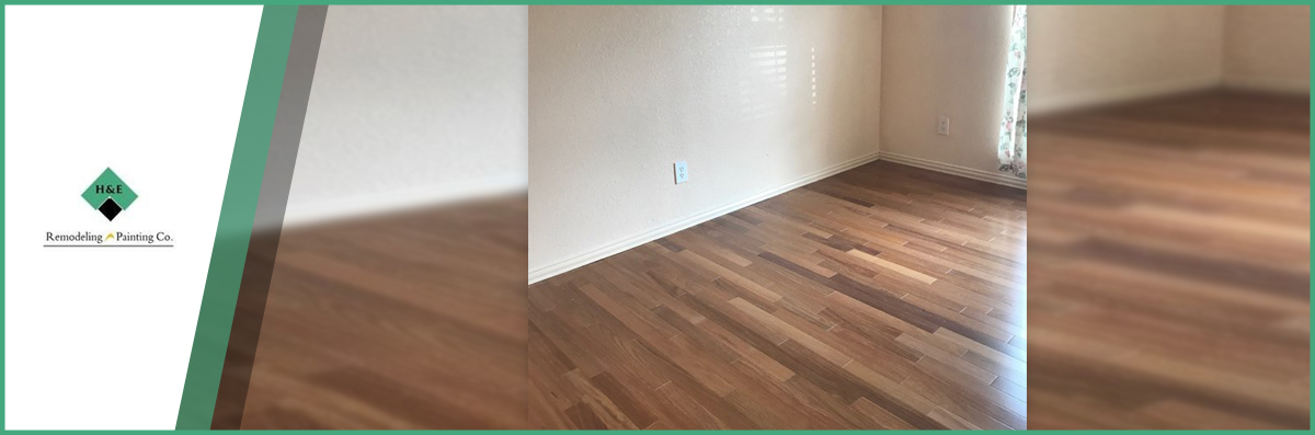 H And E Remodeling And Painting Company Offers Flooring Services In