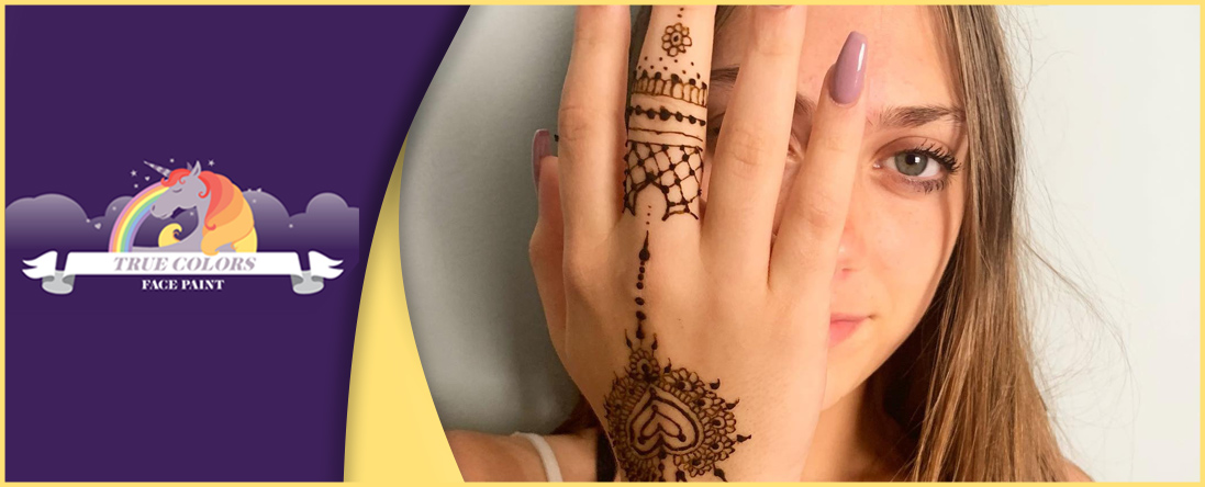 True Colors Face Paint Offers Henna Tattoos in Miami, FL