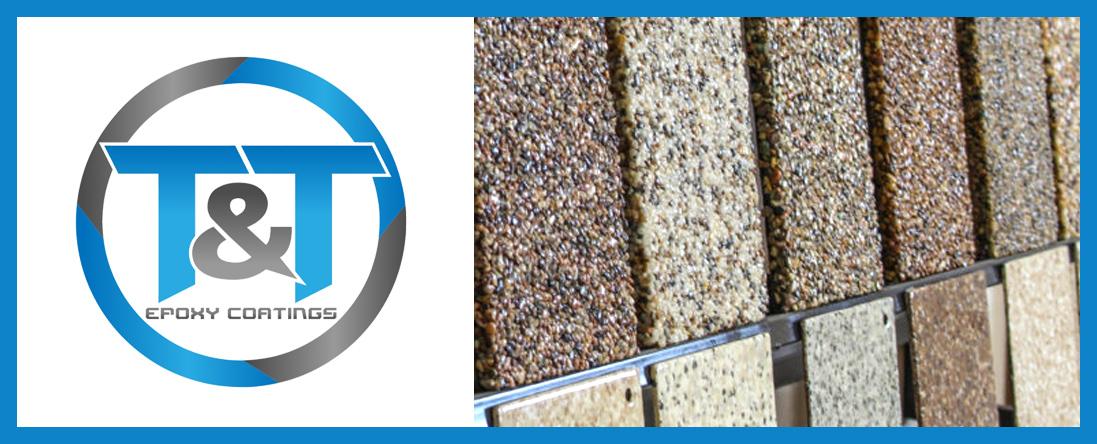 Epoxy Chip and Quartz Flooring