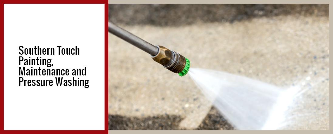 Pressure Washing and General Maintenance