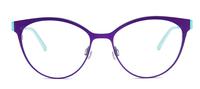 Purple Haze/Light Turquoise