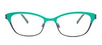 Blue Iris/Emerald